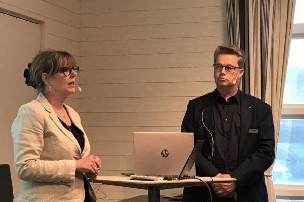 Jeanette Lämmel och Martin Carling.