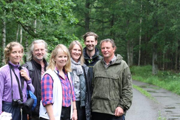 Arrangörerna av seminariet kalhyggesfritt skogsbruk i Vänersborg 2019.