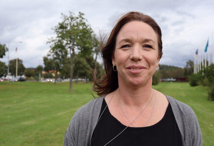 Bilden föreställer Helen Tisell, ny infrastrukturansvarig på Fyrbodals kommunalförbund.