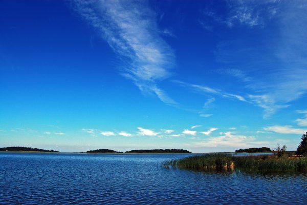 Vy över sjön Vänern