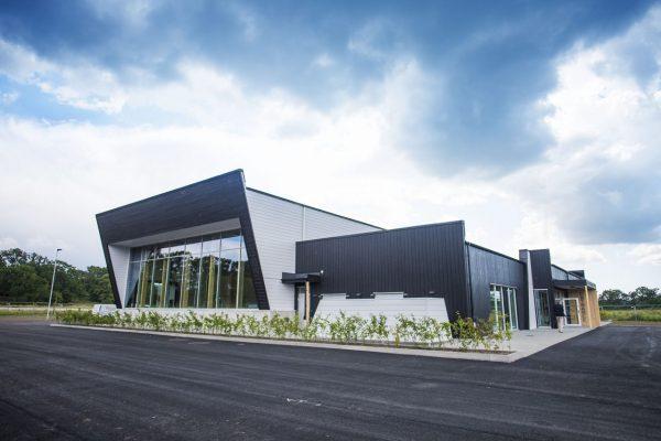 Bild på byggnaden där Wargön Innovation är beläget.