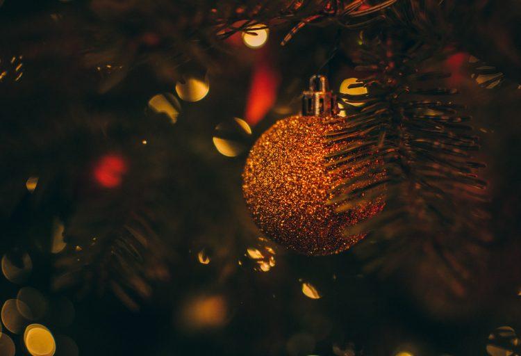 En julgranskula i en julgran
